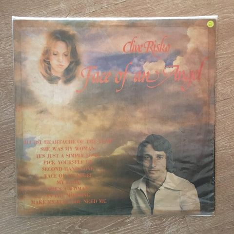 Clive Risko - Face Of An Angel -  Vinyl LP Record - Opened  - Very-Good Quality (VG)