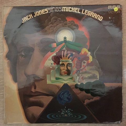 Jack Jones ‎– Sings Michel Legrand  - Vinyl LP Record  - Opened  - Very-Good+ Quality (VG+)