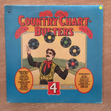 Country Chart Busters Vol 4 - Vinyl LP Record - Opened  - Very-Good- Quality (VG-) - C-Plan Audio