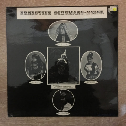 Ernestine Schumann-Heink - Vinyl LP Record  - Opened  - Very-Good+ Quality (VG+)