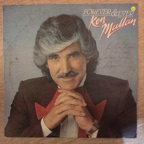 Ken Mullan - Forever & Ever - Vinyl LP Record  - Opened  - Very-Good+ Quality (VG+)