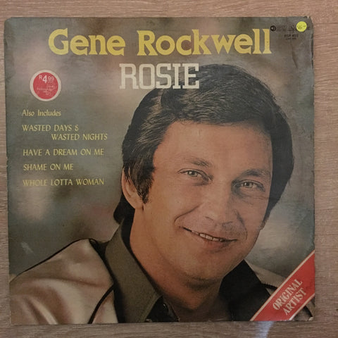 Gene Rockwell - Rosie - Vinyl LP Record - Opened  - Very-Good- Quality (VG-)