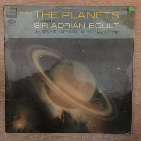 Sir Adrian Boult - The Planets - Vinyl LP Record  - Opened  - Very-Good+ Quality (VG+) - C-Plan Audio