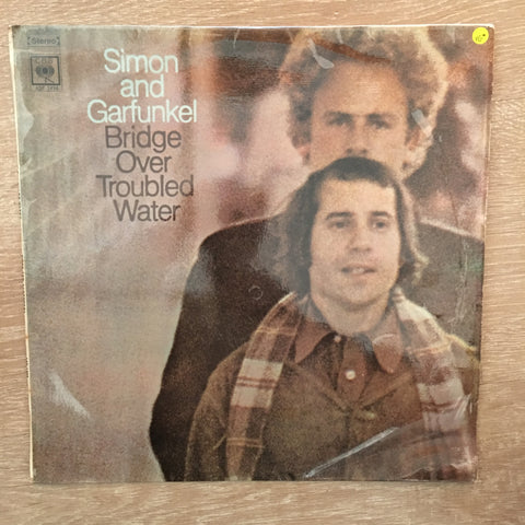 Simon And Garfunkel - Bridge Over Troubled Water -  Vinyl LP Record - Opened  - Very-Good Quality (VG)