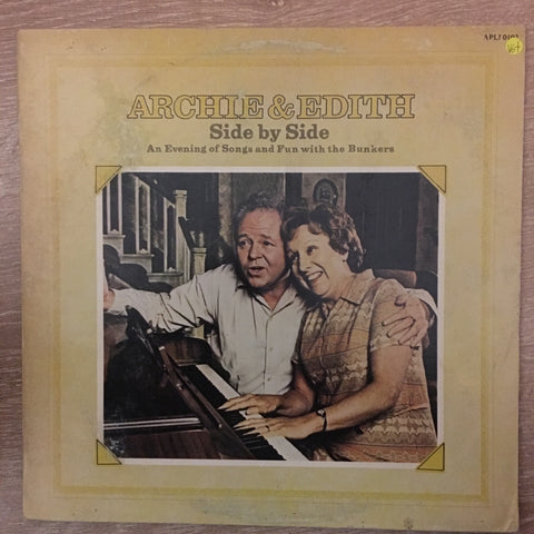 Archie & Edith ‎– Side By Side - Vinyl LP Record  - Opened  - Very-Good+ Quality (VG+) - C-Plan Audio