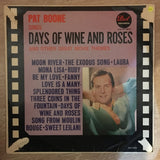 Pat Boone ‎– Days Of Wine and Roses - Vinyl LP Record - Opened  - Good+ Quality (G+) - C-Plan Audio
