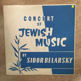 Sidor Belarsky - Concert Of Jewish Music  - Vinyl LP Record - Opened  - Very-Good Quality (VG) - C-Plan Audio