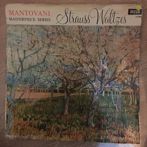 Mantovani - Strauss Waltzes - Vinyl LP Record - Opened  - Good Quality (G)