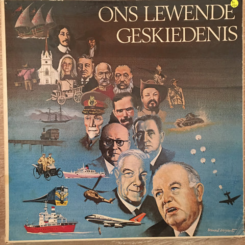 Ons Lewende Geskiedenes - 8 x Vinyl LP Record Box Set - Opened  - Very-Good+ Quality (VG+) - C-Plan Audio