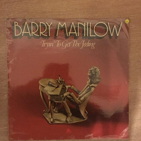 Barry Manilow - Tryin' To Get The Feeling  - Vinyl LP Record  - Opened  - Very-Good+ Quality (VG+)