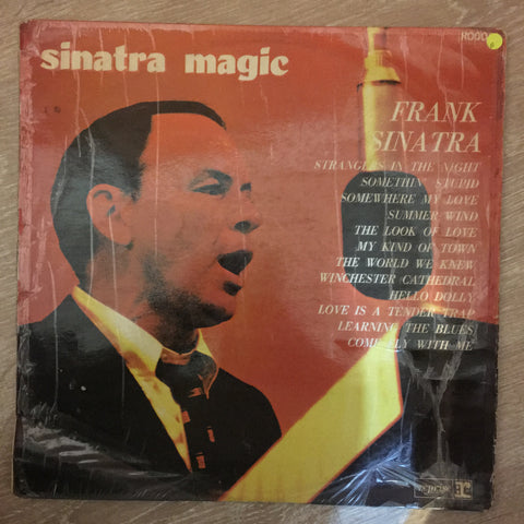 Frank Sinatra ‎– Sinatra Magic - Vinyl LP Record - Opened  - Good Quality (G)