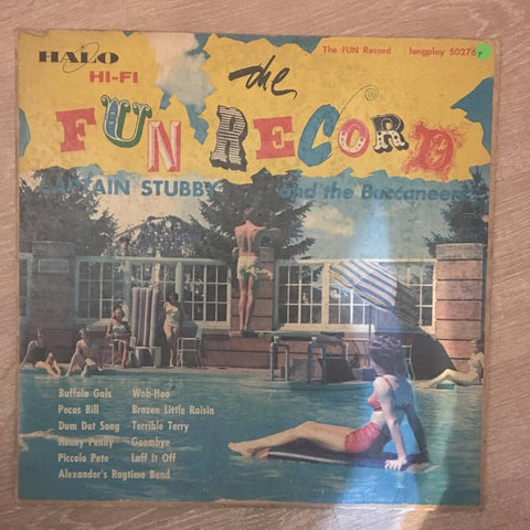 Captain Stubby And The Buccaneers ‎– The Fun Record - Vinyl LP Record - Opened  - Fair Quality (F) - C-Plan Audio