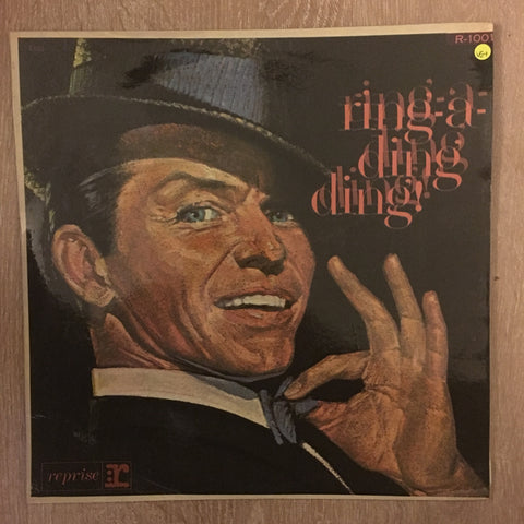 Frank Sinatra - Ring Ding Ding - Vinyl LP Record - Opened  - Very-Good+ Quality (VG+)