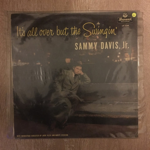 Sammy Davis J.R - It's All Over But The Swingin'  - Vinyl LP Record - Opened  - Very-Good+ Quality (VG+)