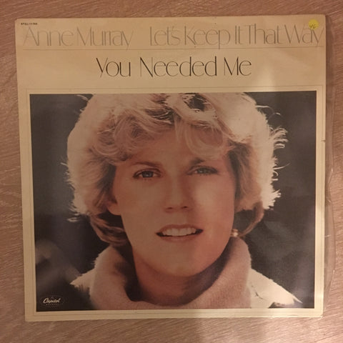 Anne Murray - You Needed Me - Vinyl LP Record - Opened  - Very-Good Quality (VG)