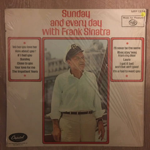 Frank Sinatra - Sunday and Every Day  - Vinyl LP Record - Opened  - Very-Good Quality (VG)