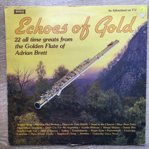 Adrian Brett - Echoes Of Gold - Vinyl LP Record - Opened  - Very-Good Quality (VG) - C-Plan Audio