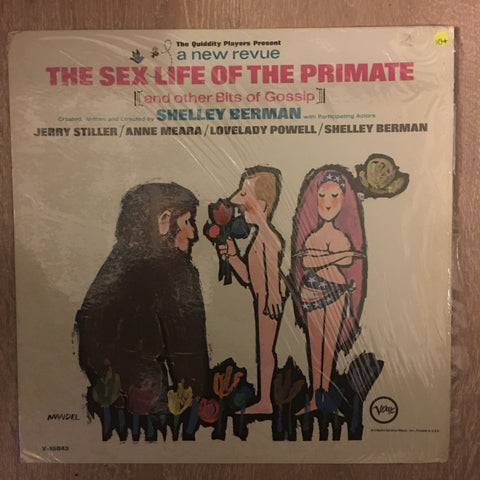 Shelley Berman ‎– The S Life Of The Primate (And Other Bits Of Gossip) - Vinyl LP Record - Opened  - Very-Good+ Quality (VG+)