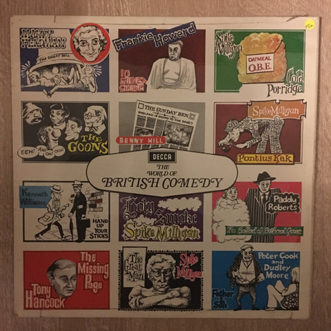 The World Of British Comedy - Vinyl LP Record - Opened  - Very-Good+ Quality (VG+)