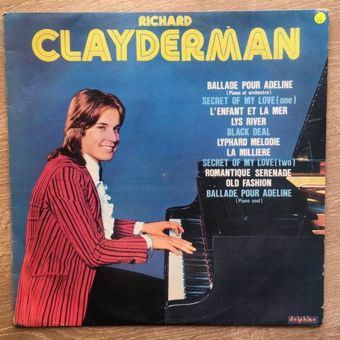 Richard Clayderman (Rare Early Album) - Vinyl LP Record - Opened  - Very-Good Quality (VG)