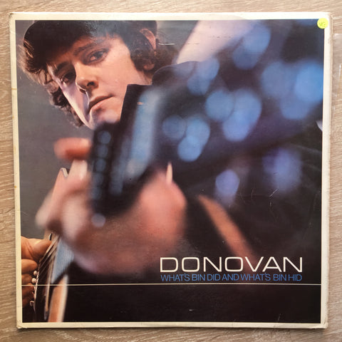 Donovan ‎– What's Bin Did And What's Bin Hid -  Vinyl LP Record - Opened  - Very-Good Quality (VG)