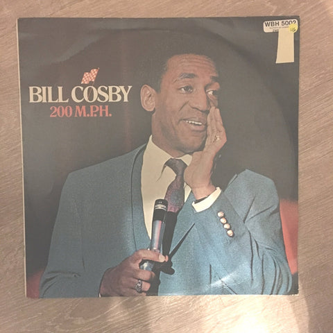 Bill Cosby - 200 MPH - Vinyl LP Record - Opened  - Very-Good Quality (VG)
