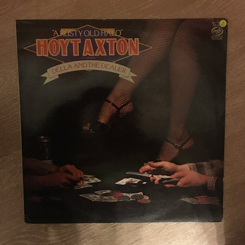 Hoyt Axton ‎– A Rusty Old Halo Featuring Della And The Dealer - Vinyl LP Record - Opened  - Very-Good Quality (VG) - C-Plan Audio