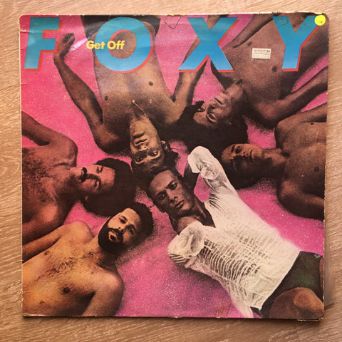 Foxy ‎– Get Off – Vinyl LP Record - Opened  - Very-Good+ Quality (VG+)