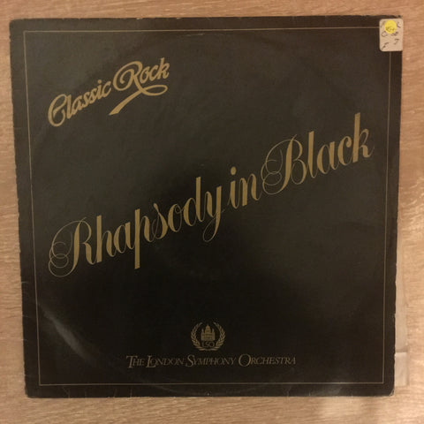 Classic Rock - Rhapsody in Black - Vinyl LP Record - Opened  - Very-Good+ Quality (VG+)