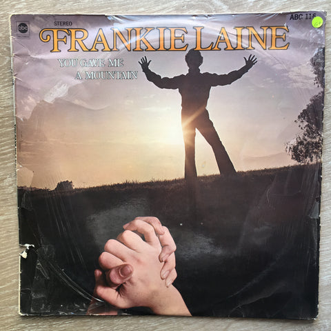Frankie Laine ‎– You Gave Me A Mountain – Vinyl LP Record - Opened  - Very-Good+ Quality (VG+) - C-Plan Audio