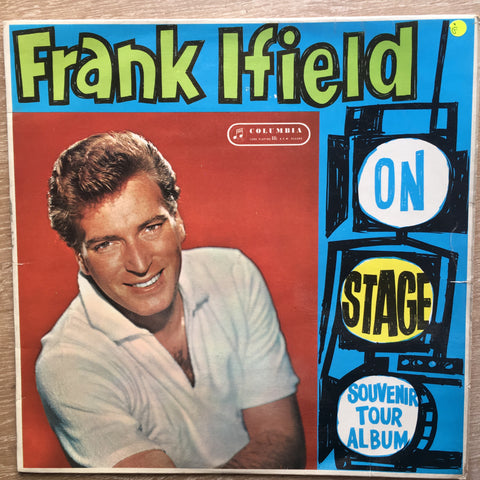 Frank Ifield on Stage - Vinyl LP Record - Opened  - Good Quality (G)