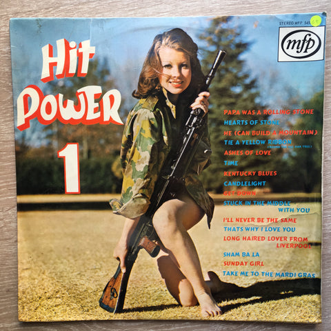 Hit Power 1 - Vinyl LP Record - Opened  - Good+ Quality (G+)