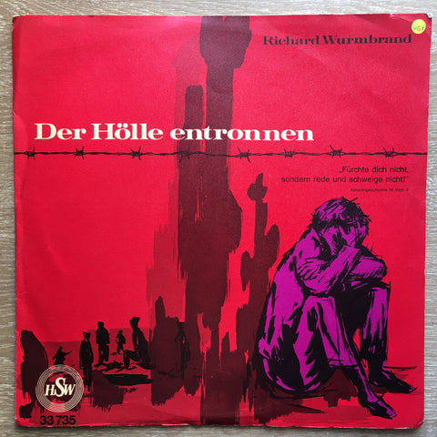 Richard Wurmbrand ‎– Der Hölle Entronnen -  Vinyl LP Record - Very-Good+ Quality (VG+)