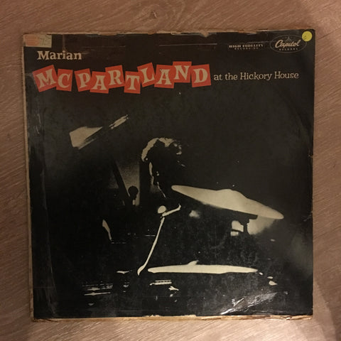 Marian McPartland At The Hickory House -  Vinyl LP Record - Opened  - Good Quality (G)