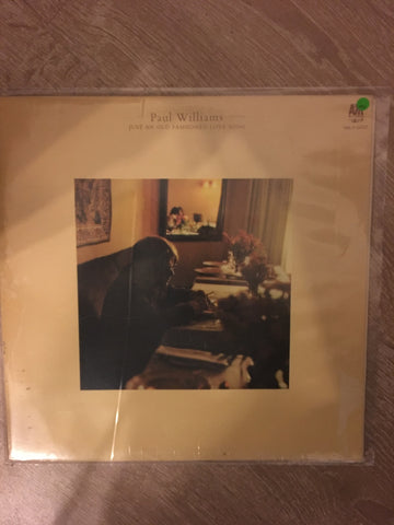 Paul Williams  - Just an Old Fashioned Love Song - Vinyl LP Record - Opened  - Very-Good+ Quality (VG+) - C-Plan Audio