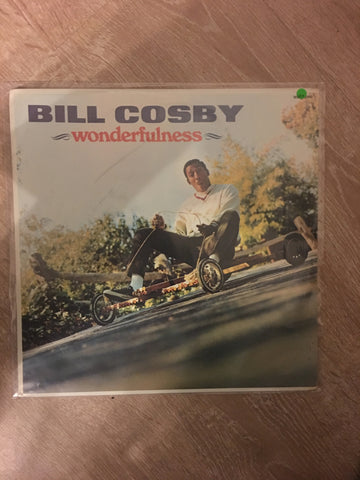 Bill Cosby  - Wonderfulness - Vinyl LP Record - Opened  - Very-Good+ Quality (VG+)