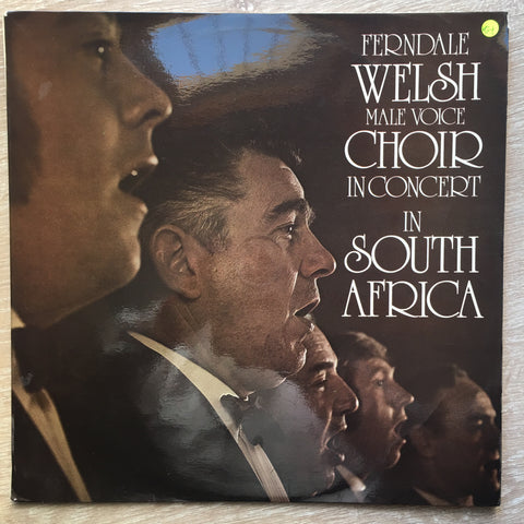 Ferndale Male Voice Choir ‎– Ferndale Welsh Male Voice Choir In Choir In South Africa-  Vinyl LP Record - Very-Good+ Quality (VG+)