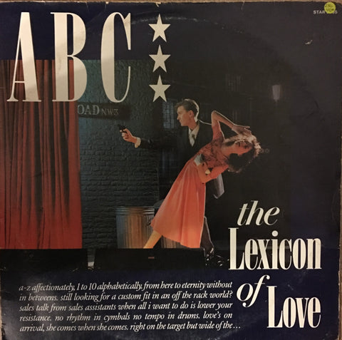 ABC - The Lexicon of Love  - Vinyl LP - Opened  - Very-Good+ Quality (VG+)