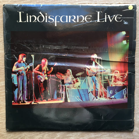 Lindisfarne ‎– Live - Vinyl LP Record - Opened  - Very-Good Quality (VG)