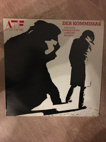 ATF - After the Fire  - Der Kommissar - Vinyl LP Record - Opened  - Very-Good+ Quality (VG+) - C-Plan Audio