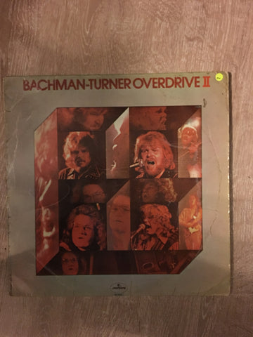 Bachman - Turner Overdrive II  - Vinyl LP - Opened  - Good+ Quality (G+)