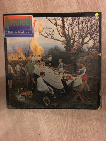 Nazareth - Malice in Wonderland - Vinyl LP Record - Opened  - Very-Good Quality (VG) - C-Plan Audio