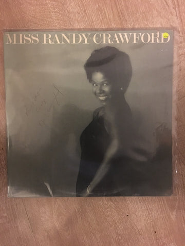 Randy Crawford (Autographed)  - Miss Randy Crawford  - Rare Autographed Album - Vinyl LP Record - Opened  - Very-Good+ Quality (VG+)