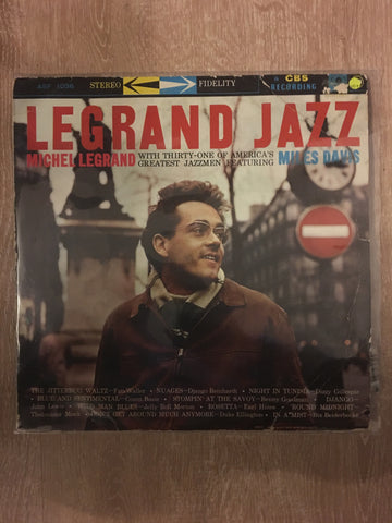 Michel Legrand  - Legrand Jazz with 31 of America's Finest Jazzmen including Miles Davis - Vinyl LP Record - Opened  - Very-Good+ Quality (VG+) - C-Plan Audio