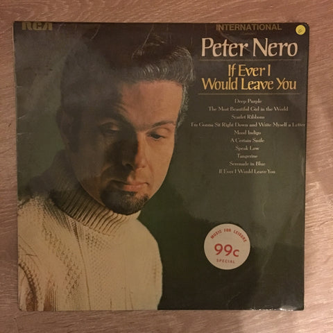 Peter Nero - If Ever I Would Leave You  - Vinyl LP Record - Opened  - Good Quality (G) - C-Plan Audio