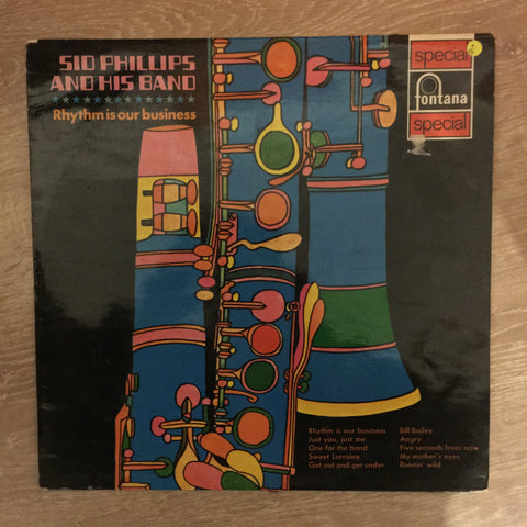 Sid Phillips and His Band - Rythm Is Our Business - Vinyl LP Record - Opened  - Very-Good Quality (VG)