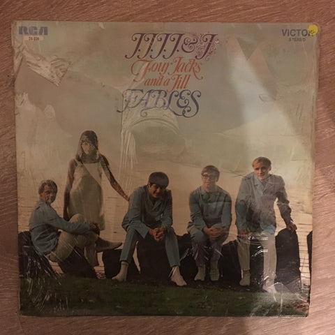 Four Jacks and A Jill - Fables - Vinyl LP Record - Opened  - Very-Good Quality (VG) - C-Plan Audio