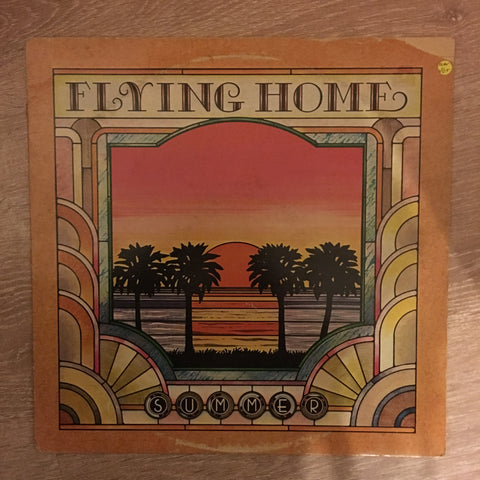 Flying Home - Summer -  Vinyl LP Record - Opened  - Very-Good+ Quality (VG+) - Wear On Cover