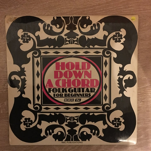 Hold Down A Chord - Folk Guitar For Beginners - Vinyl LP Record - Opened  - Very-Good+ Quality (VG+)