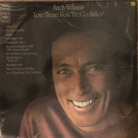 Andy Williams - Love Theme from the Godfather - Vinyl LP Record - Opened  - Very-Good+ Quality (VG+)